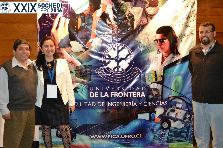 Escuela de Ingeniera en Informática participó en congreso