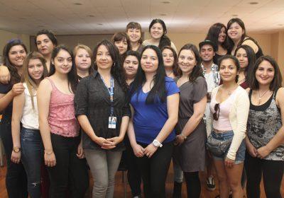 ONEMI dictó taller a estudiantes de la Escuela de Pedagogía en Educación Diferencial