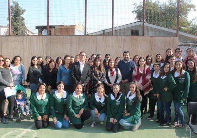 UBO incentiva interés por las ciencias en colegio de la comuna de Independencia